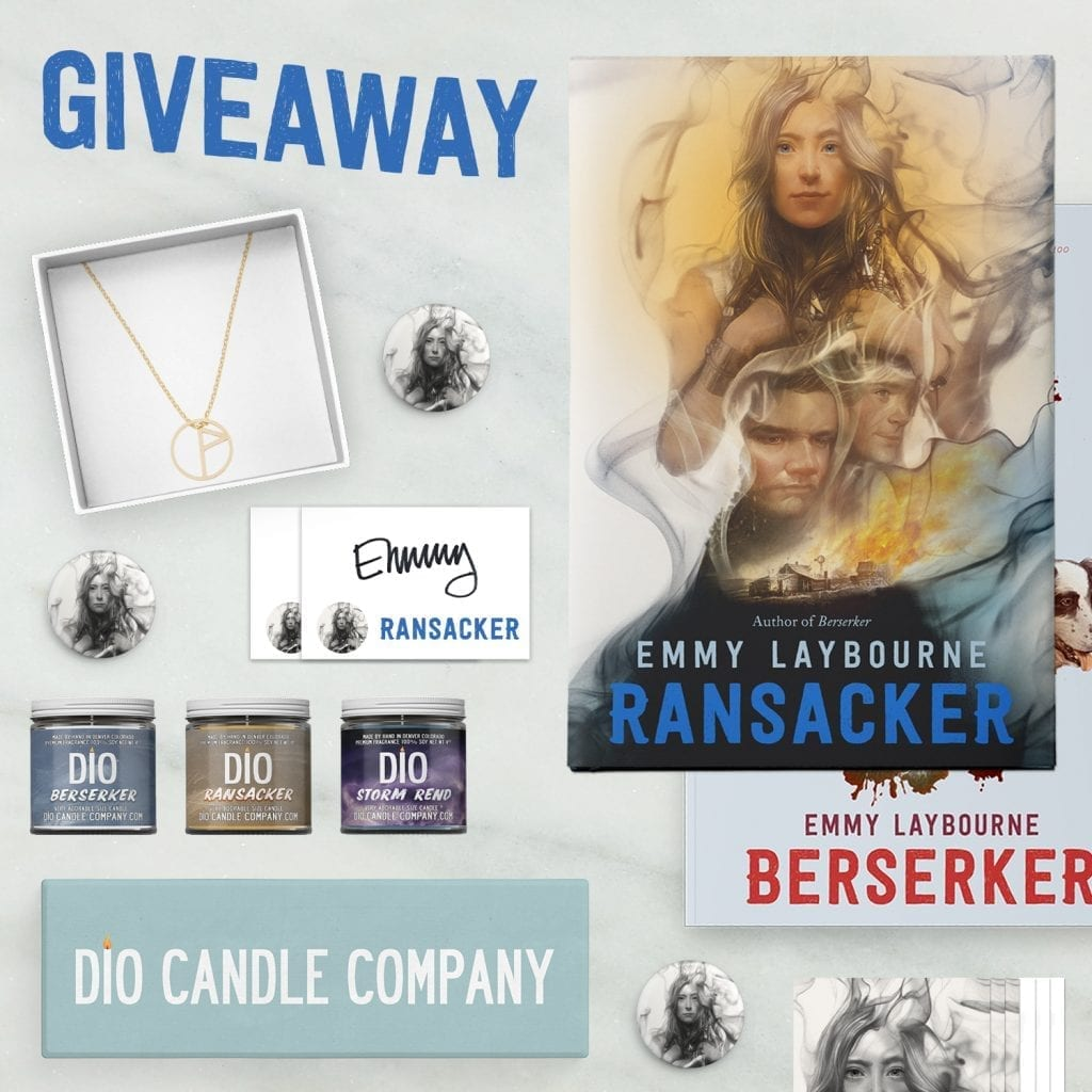 Ransacker Giveaway Flat Lay